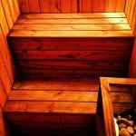 sauna wnętrze