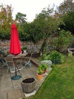 Stolik w ogródku