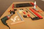 stół z narzędziami